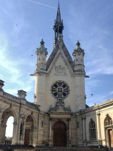 Cappella del castello di Chantilly.