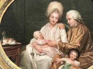 Nicolas-Bernard Lepicie ritratto di Marc-Etienne Quatremere e della sua famiglia 1780