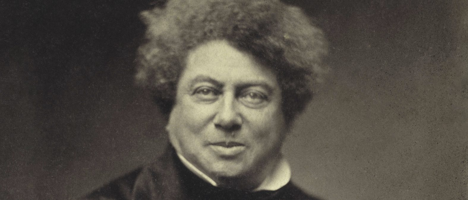 Nadar, Alexandre Dumas padre a 53 anni (1802-1870).